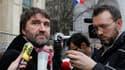Eric Vercoutre, responsable syndical CFDT de SeaFrance. Le tribunal de commerce de Paris a reporté au 9 janvier l'examen du projet de reprise de la compagnie de ferries transmanche par une société coopérative et participative (Scop) regroupant ses salarié