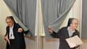 Bureau de vote à Brakel. Quelque 7,7 millions d'électeurs belges se rendent aux urnes ce dimanche à l'occasion d'élections législatives décisives pour l'avenir du pays. /Photo prise le 13 juin 2010/REUTERS/Thierry Roge