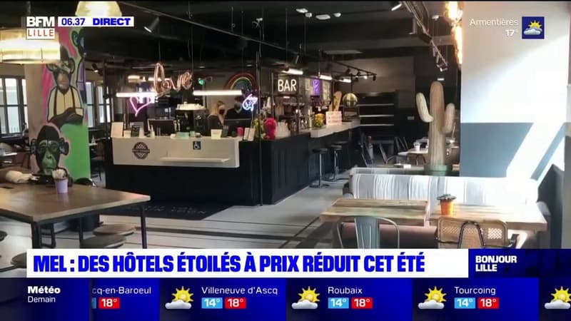 Métropole européenne de Lille: des hôtels étoilés à prix réduit cet été