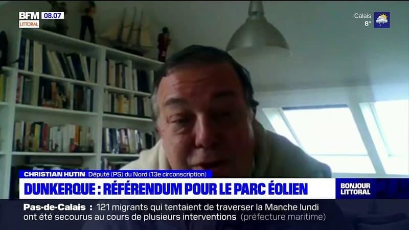 Dunkerque: le député du Nord Christian Hutin réclame un référendum sur le projet de parc éolien
