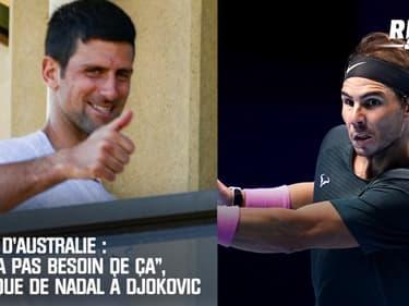 Open d'Australie : La pique de Nadal à Djokovic