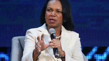Condoleezza Rice à Abu Dhabi le 11 novembre 2019.