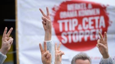 De nombreuses manifestations ont lieu en Europe, et notamment en Allemagne, pour dénoncer le Ceta et le Tafta.