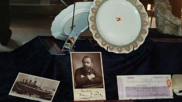 Des reliques issues de l'épave du Titanic, photographiées en 2010.