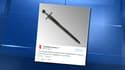 La British Library a demandé de l'aide aux internautes pour déchiffrer l'inscription gravée sur cette épée.