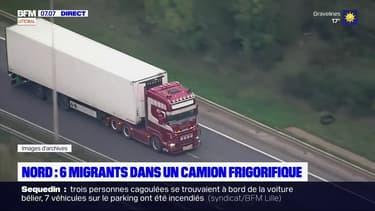 Nord: 6 migrants découverts dans un camion frigorifique à Loon-Plage