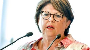 Martine Aubry à Lille, le 3 août 2018.