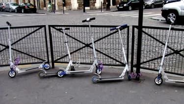Les trottinettes en libre-service vont être testées dans le sud de Paris.