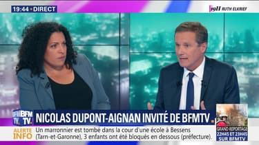 Spéciale Européennes: Nicolas Dupont-Aignan est l'invité de BFMTV
