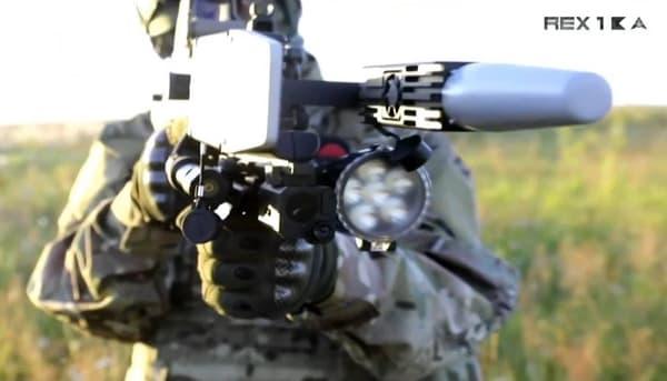 Le REX-1 est un tueur de drones capable de les neutraliser sans les détruire.