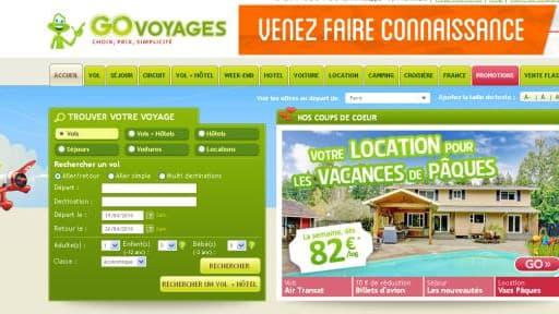 Le Français GoVoyages appartient notamment à Odigeo.