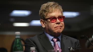 Elton John à Washington en mai 2015.