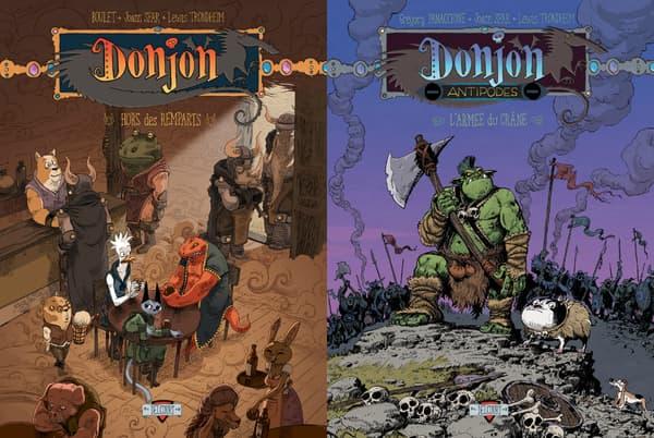 Nouveaux albums de Donjon