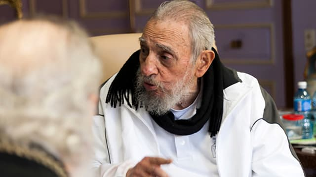 Fidel Castro, en février 2016.