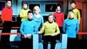 L'équipe de la première version de Star Trek