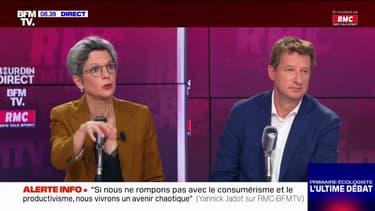 Sandrine Rousseau, Yannick Jadot: le débat sur BFMTV