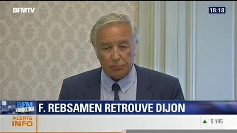 Réélu maire de Dijon, François Rebsamen va quitter le gouvernement
