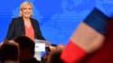 Marine Le Pen le 1er mai 2018 à Nice.