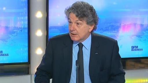 Thierry Breton a affirmé qu'il croit au bien-fondé des OPA amicales.