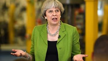 Theresa May le 31 mai 2017