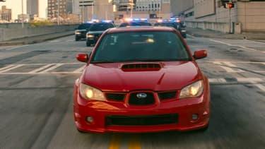 La Subaru WRX, l'autre du star de Baby Driver, en salles ce mercredi.