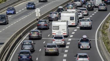Des ralentissements sur l'autoroute (image d'illustration).