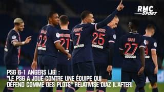 """PSG 6-1 Angers (J6) : """"Le PSG a joué contre une équipe qui défend comme des plots"""" relativise Diaz (L'After)"""
