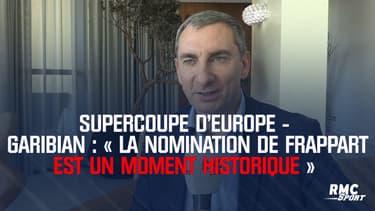 Supercoupe d'Europe - Garibian : « La nomination de Frappart est un moment historique »