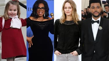 La princesse Charlotte, Oprah Winfrey, Vanessa Paradis et The Weeknd.