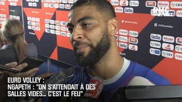 Euro de volley : « On s'attendait à des salles vides… c'est le feu » s'enthousiasme Ngapeth