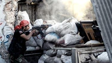 Un rebelle syrien.