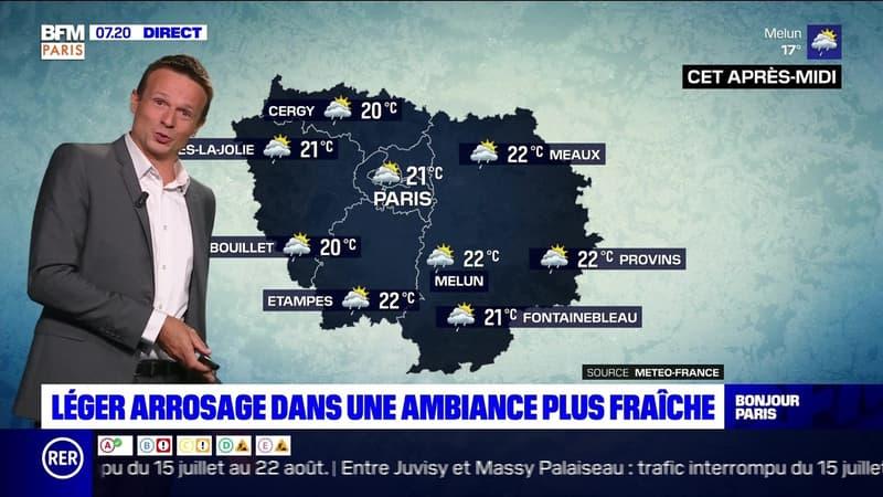 Météo Paris-Ile de France du 3 août: Léger arrosage dans une ambiance plus fraîche