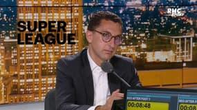 "Maxime Saada, président de Canal+, juge la Super League ""franchement pas mal"""