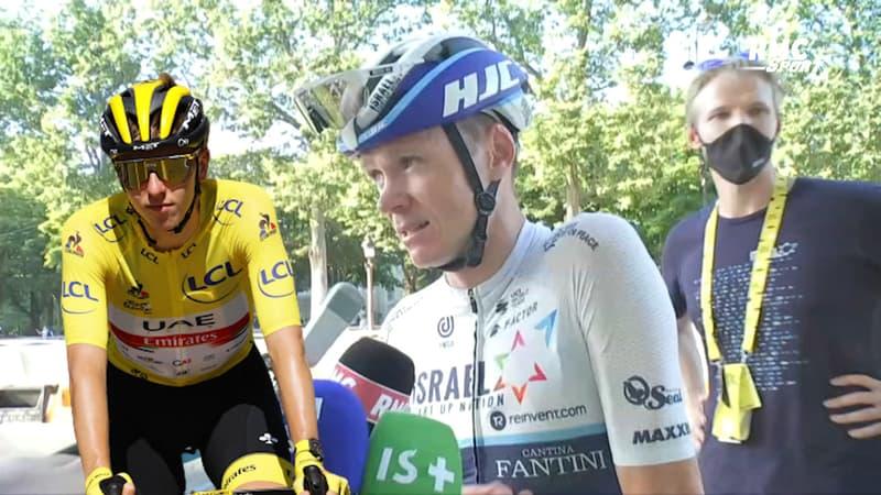 """Pogacar peut-il faire mieux que les 4 Tours de France de Froome ? """"Tout est possible"""" selon le Britannique"""