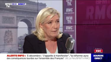 """Financement des Législatives de 2012: """"Nous n'avons strictement rien à nous reprocher dans ce dossier"""" (Marine Le Pen)"""