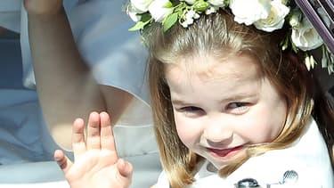 La princesse Charlotte en avril dernier.