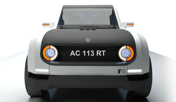 Ce concept avait remporté un concours de design organisé en 2011 par Renault