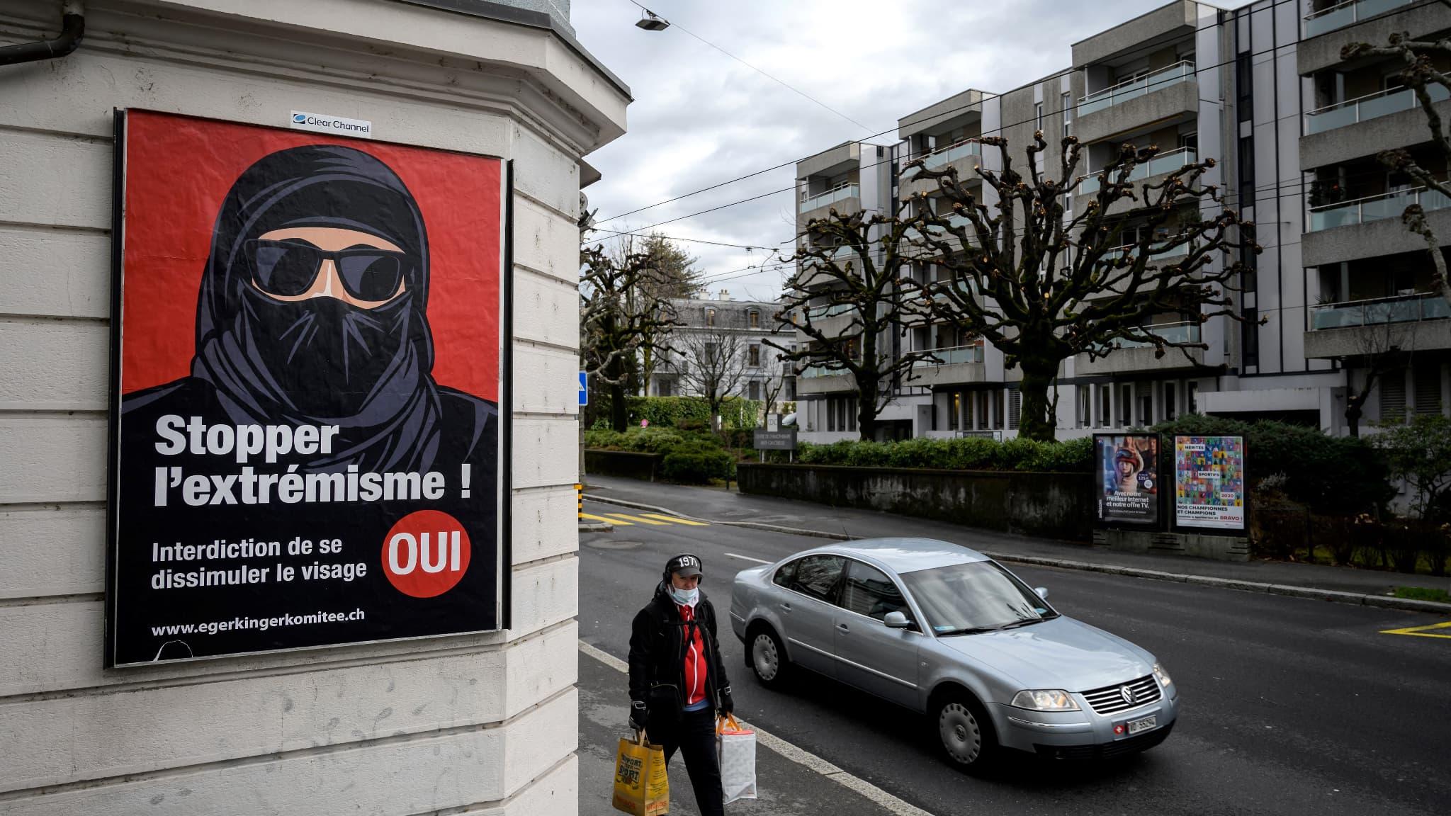 La Suisse vote ce dimanche sur une initiative anti-burqa
