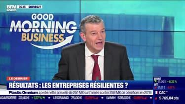 Le debrief : Les entreprises résilientes au vu de leurs résultats ?, par Nicolas Doze - 18/02