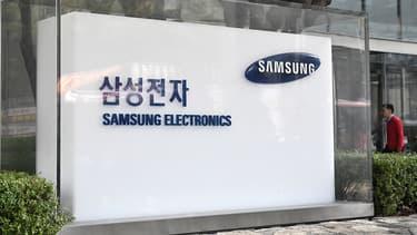 Un bureau de Samsung à Séoul, le 31 octobre 2019