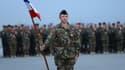 Une cérémonie de l'armée française en 2013, à l'aéroport militaire de Kaboul, en Afghanistan.