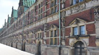 La Bourse de Copenhague au Danemark.