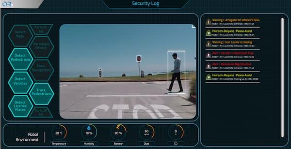 L'O-R3 scanne toutes les personnes qu'il croise pour vérifier qu'elles ne figurent pas dans le fichier des personnes recherchées.