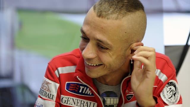 Valentino Rossi retrouve le sourire