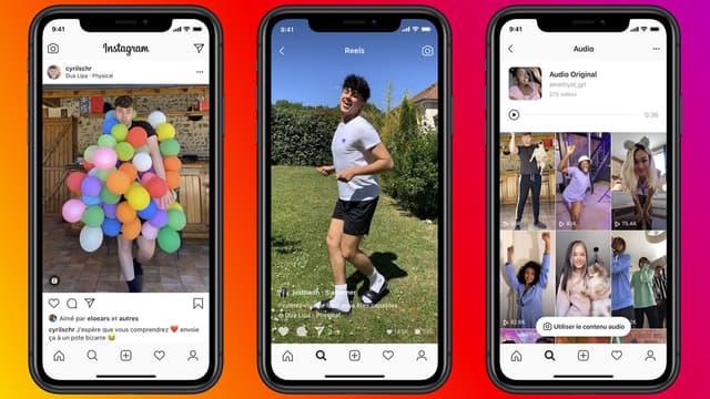 La filiale de Facebook tente de concurrencer l'application chinoise Tik Tok