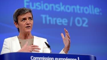 La commissaire européenne Margrethe Vestager craignait fortement de voir le rachat outre-Manche d'O2 par Hutchinson, se traduire à la fois par un choix plus limité et des prix plus élevés pour les consommateurs britanniques de téléphonie mobile.