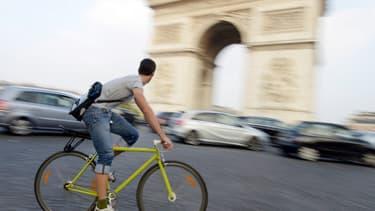 Le vélo reste le meilleur moyen d'éviter la pollution aux particules (photo d'illustration).