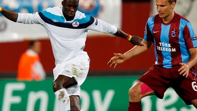 Moussa Sow a inscrit son deuxième but en deux matchs de Ligue des champions