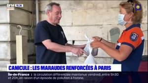 Canicule: les maraudes renforcées à Paris