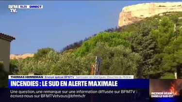 Après de nouveaux départs de feux ce mercredi, le sud de la France en alerte maximale